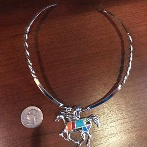 Jewelry - Choker with horse charm